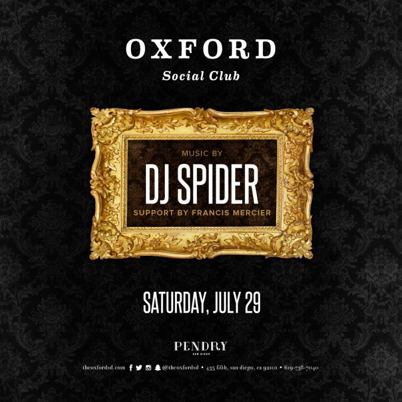 Oxford San Diego DJ Spider