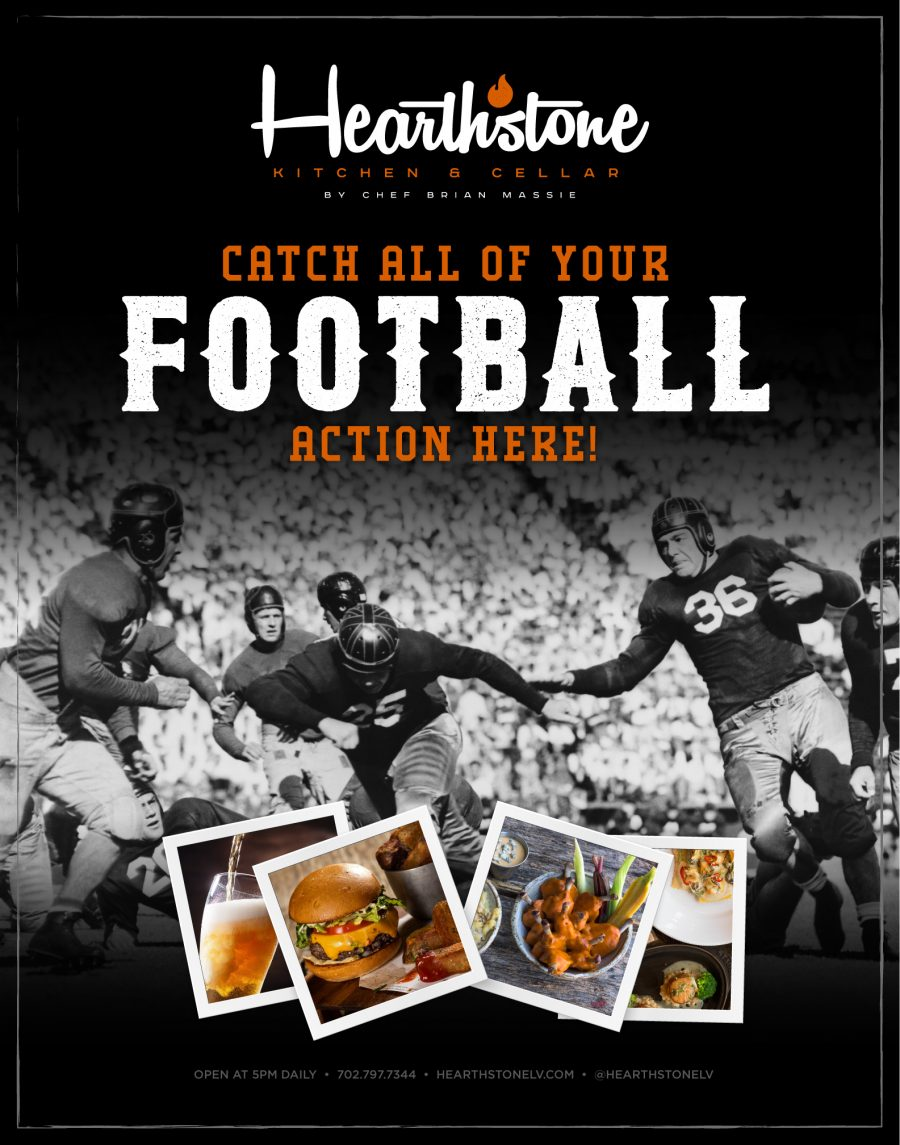 Catch all of the Football Action This Season at Hearthstone