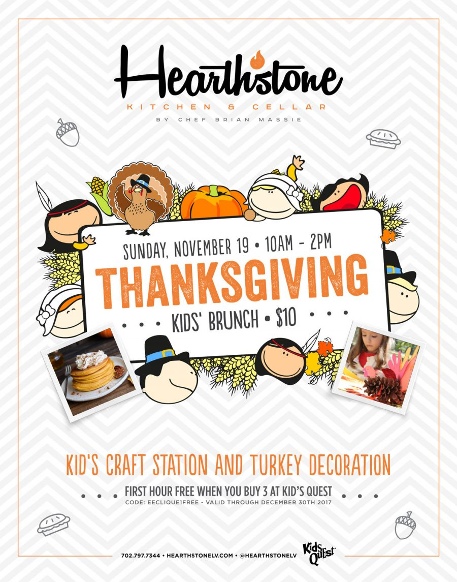 Join us at Hearthstone for Our Thanksgiving Kids Brunch
