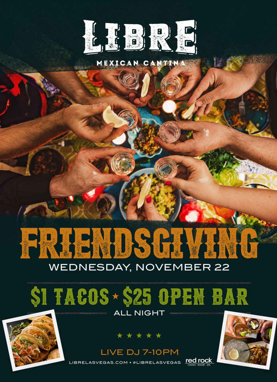 Celebrate Friendsgiving With the Ultimate Party at Libre