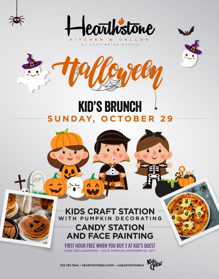 At Summerlin Restaurant Hearthstone Our New Halloween Brunch Event is All About the Kids