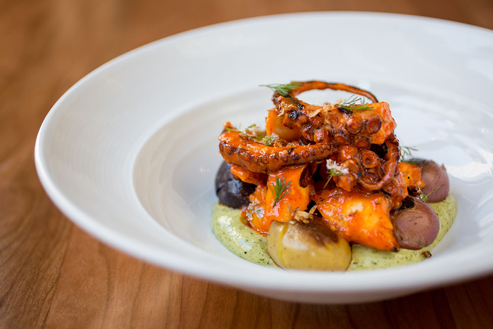 Lionfish Spicy Grilled Octopus