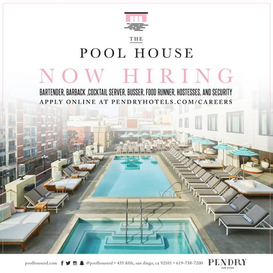 The Pool House Now Hiring