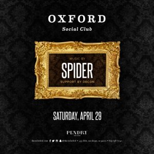 Spider Oxford Social Club