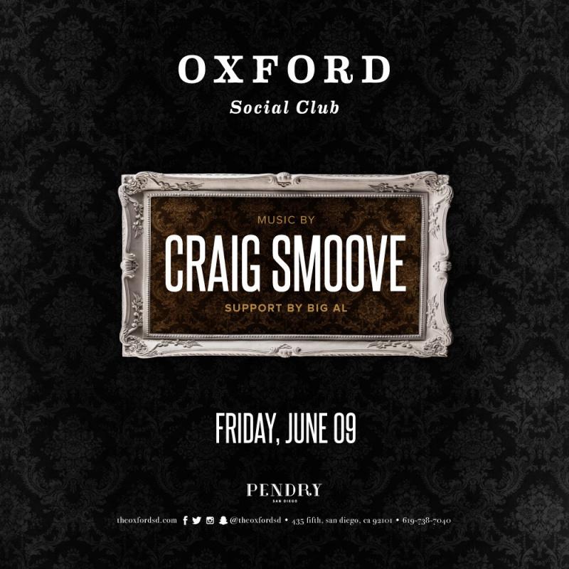 Craig Smoove - Oxford Social Club June 9, 2017