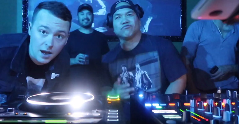 DJ Five Takes Over Oxford Social Club In San Diego