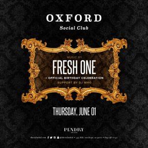 Fresh One Oxford Social Club