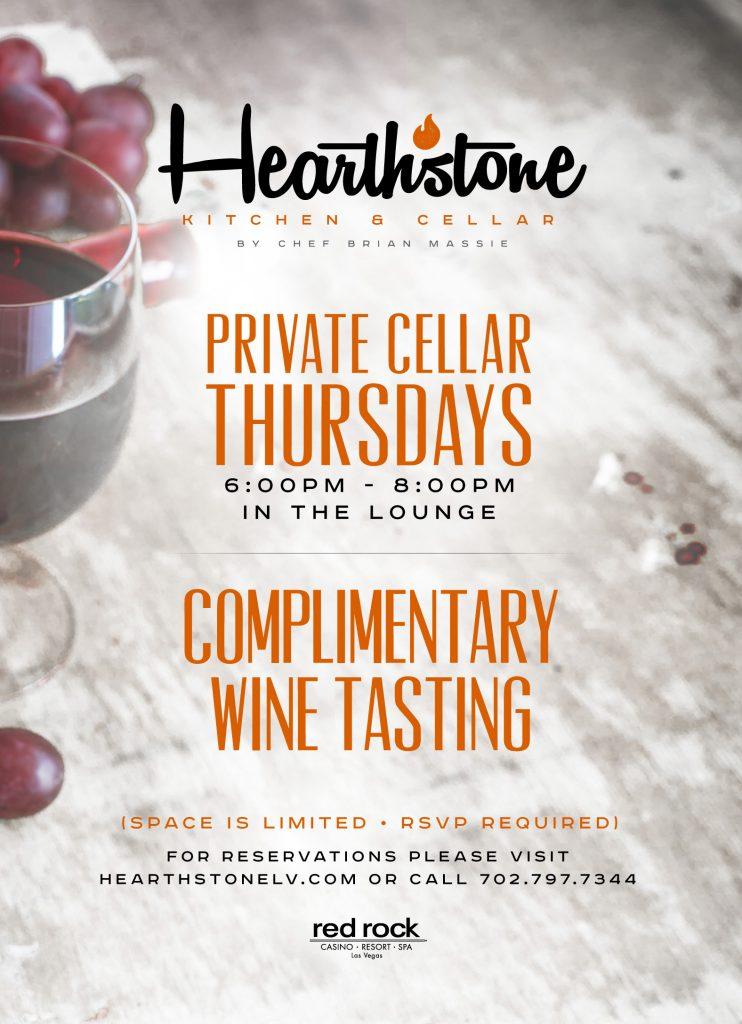 Hearthstone Wine Tasting