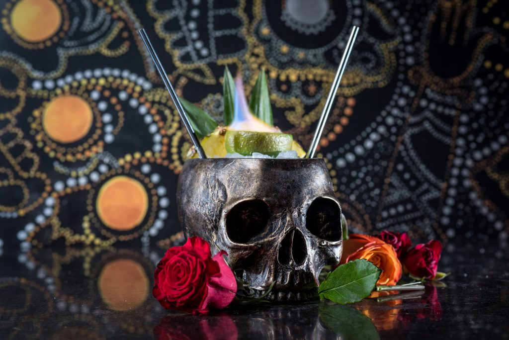borracha skeleton cocktail