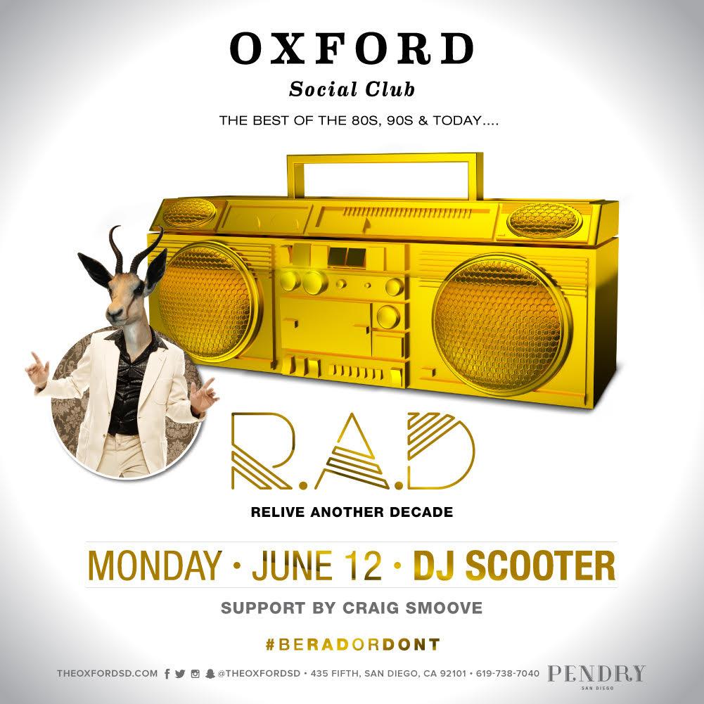 DJ Scooter - Oxford Social Club June 12, 2017