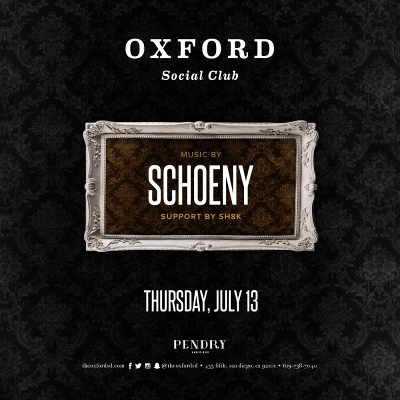 Schoeny – Oxford Social Club July 13, 2017