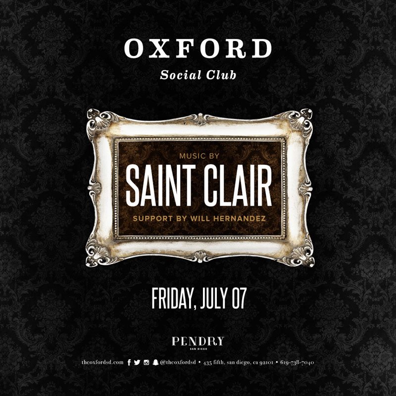 Saint Clair – Oxford Social Club July 7, 2017