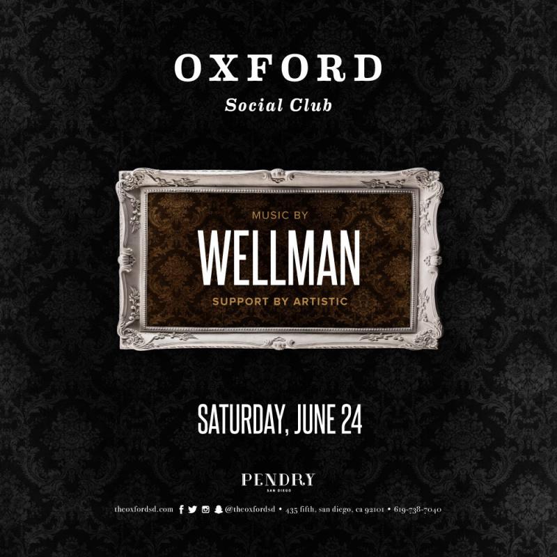 Wellman – Oxford Social Club June 24, 2017