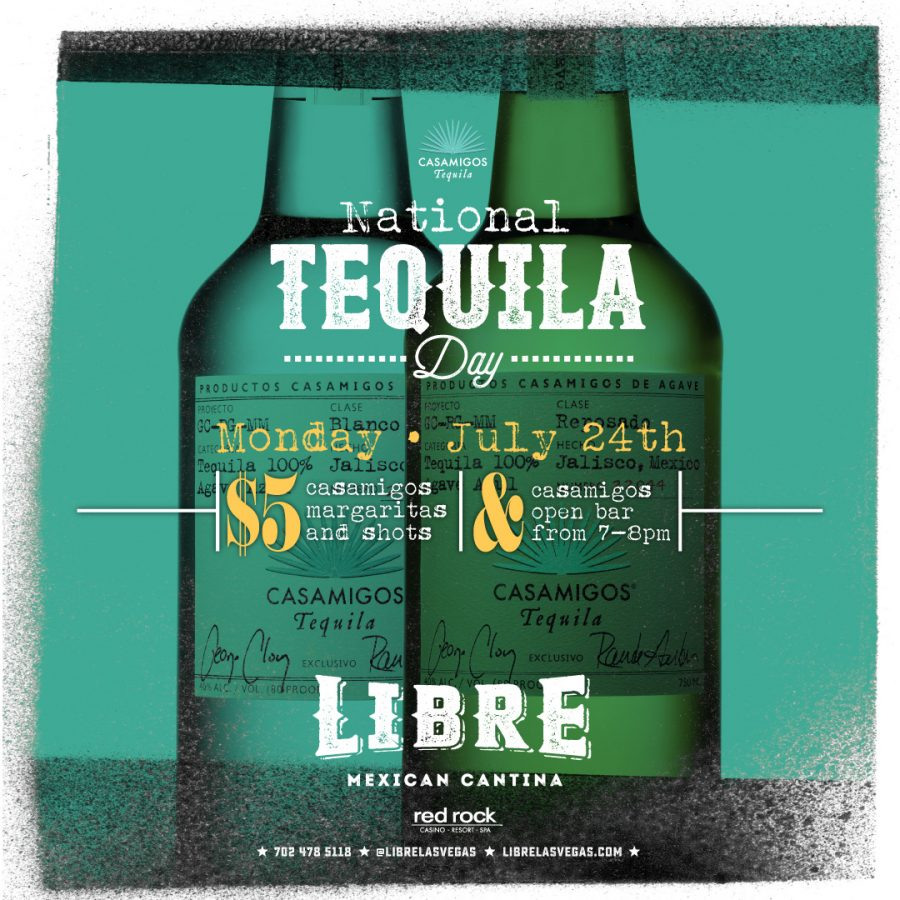 July 24th is National Tequila Day – Get Ready to Celebrate With Libre Las Vegas