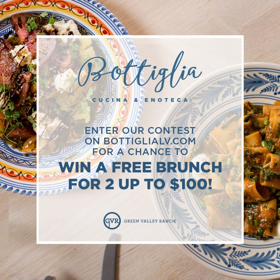Win a Brunch For Two on Us at Bottiglia