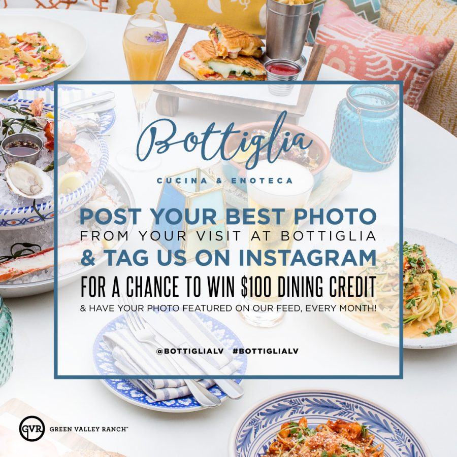 We'll Give You $100 in Bottiglia Credit…Just For Posting on Instagram