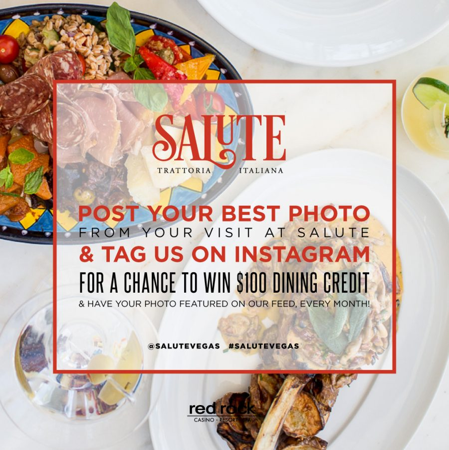 Earn $100 Dining Credit With a Single Instagram Post