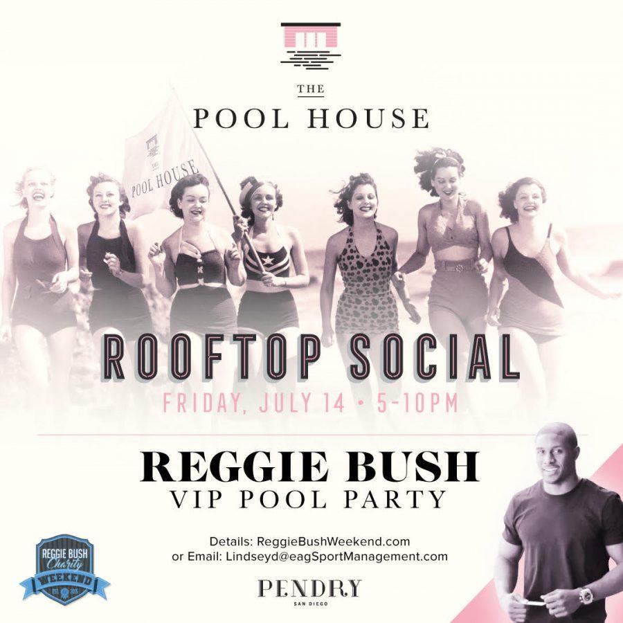 Reggie Bush VIP Pool Party