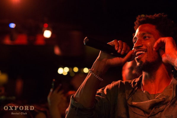 Trey Songz Performs At The Oxford Social Club
