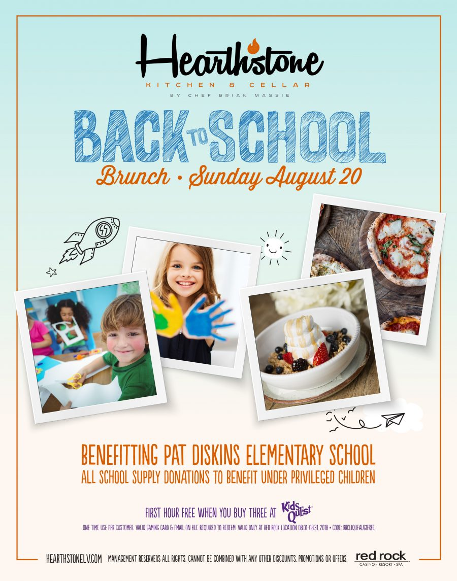 Hearthstone Back to School Kid's Brunch