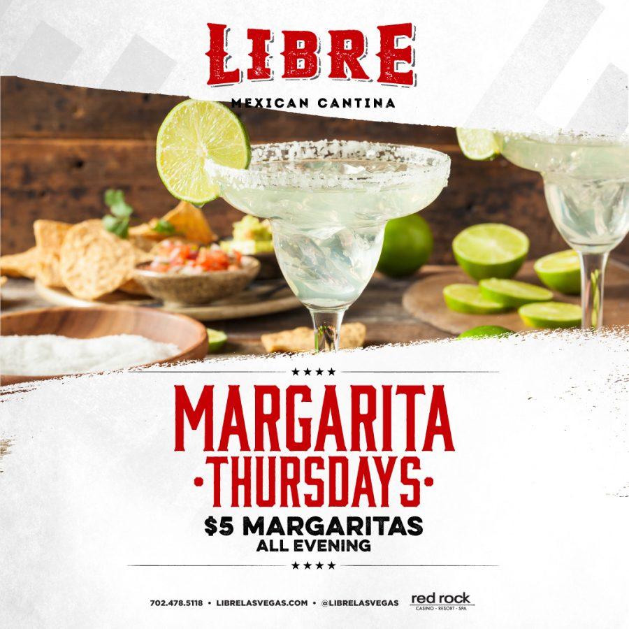 Join Libre for Margarita Thursdays Every Thursday