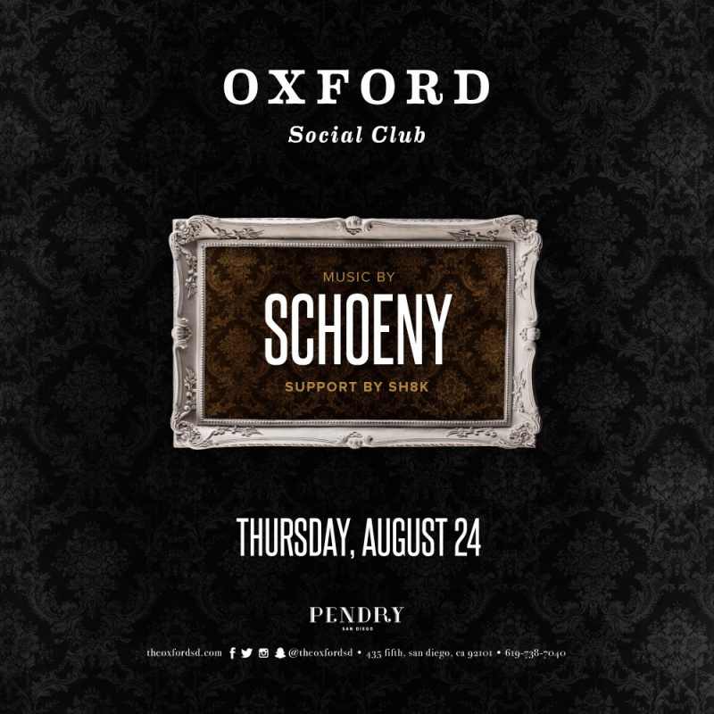 Schoeny – Oxford Social Club August 24, 2017