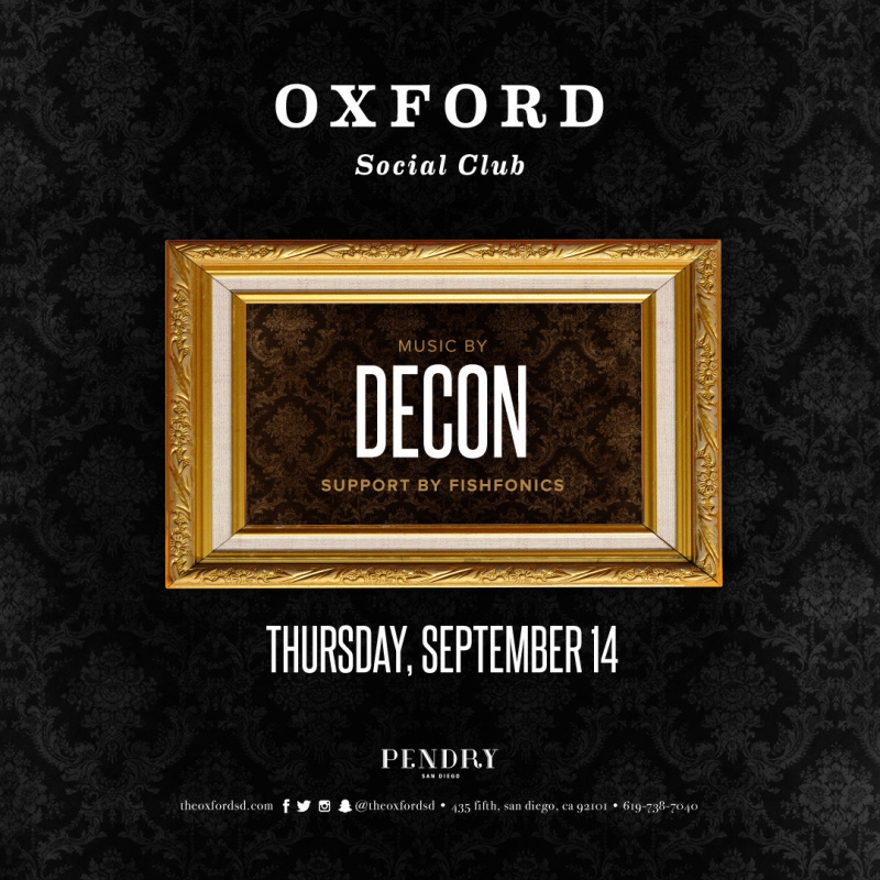 Oxford Social With Decon