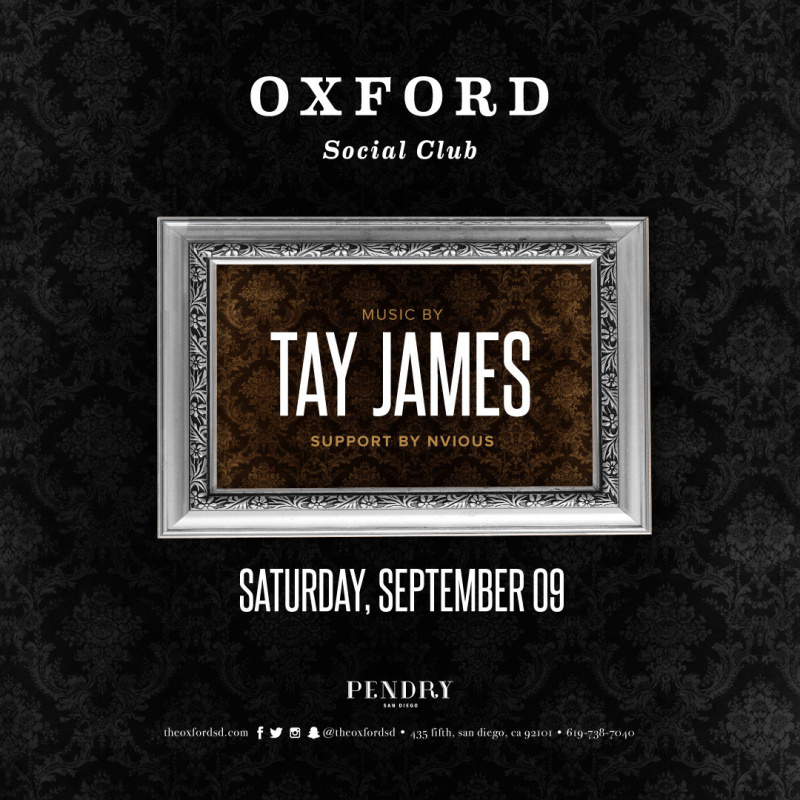 Tay James – Oxford Social Club September 9, 2017