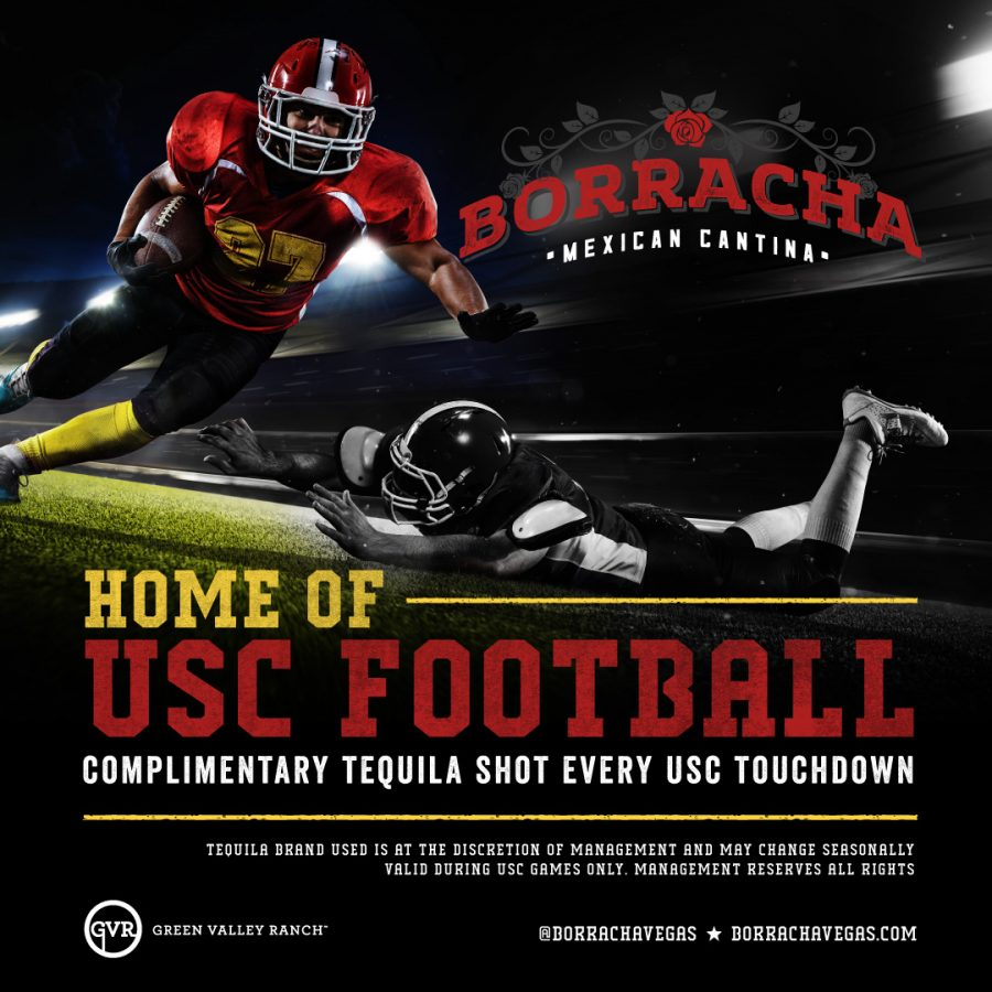 Watch Your Favorite USC Football Games at Borracha