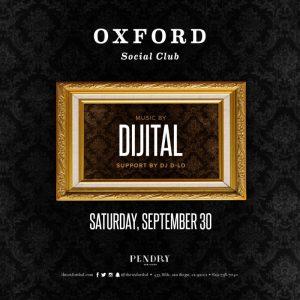 DJ Dijital at Oxford