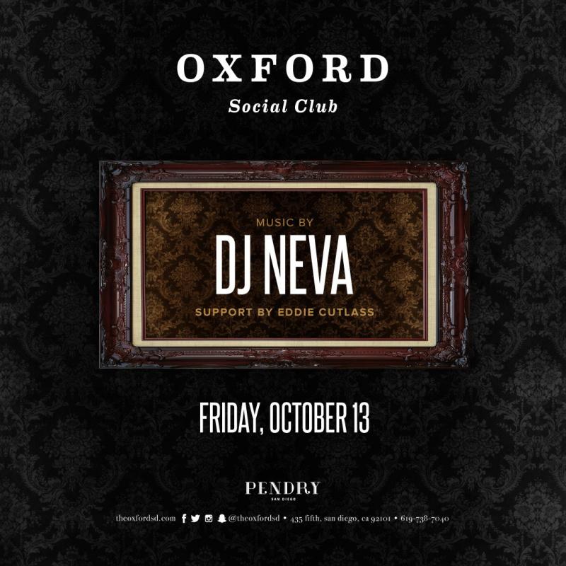 DJ Neva – Oxford Social Club October 13, 2017