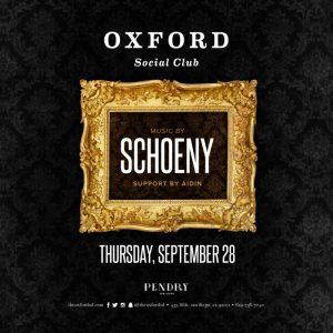 DJ Schoeny at Oxford