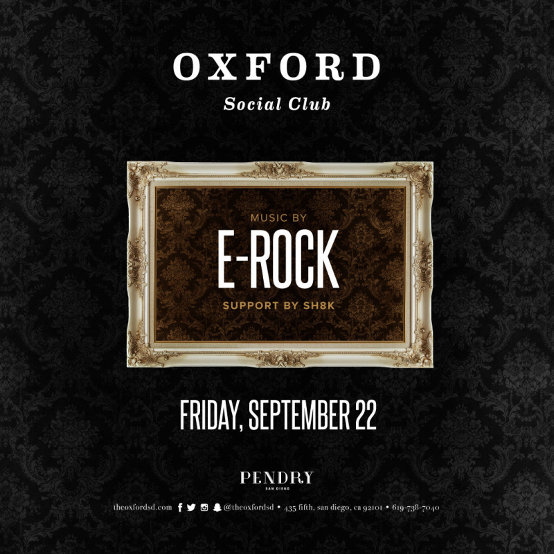 E-Rock – Oxford Social Club September 22, 2017