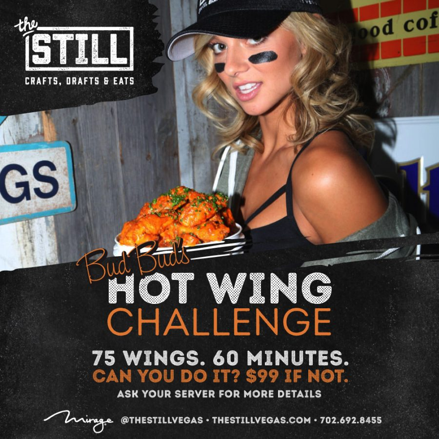 Test Your Eating Prowess With Bud Bud's Hot Wing Challenge
