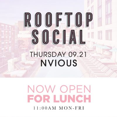 NVIOUS – The Pool House September 21, 2017