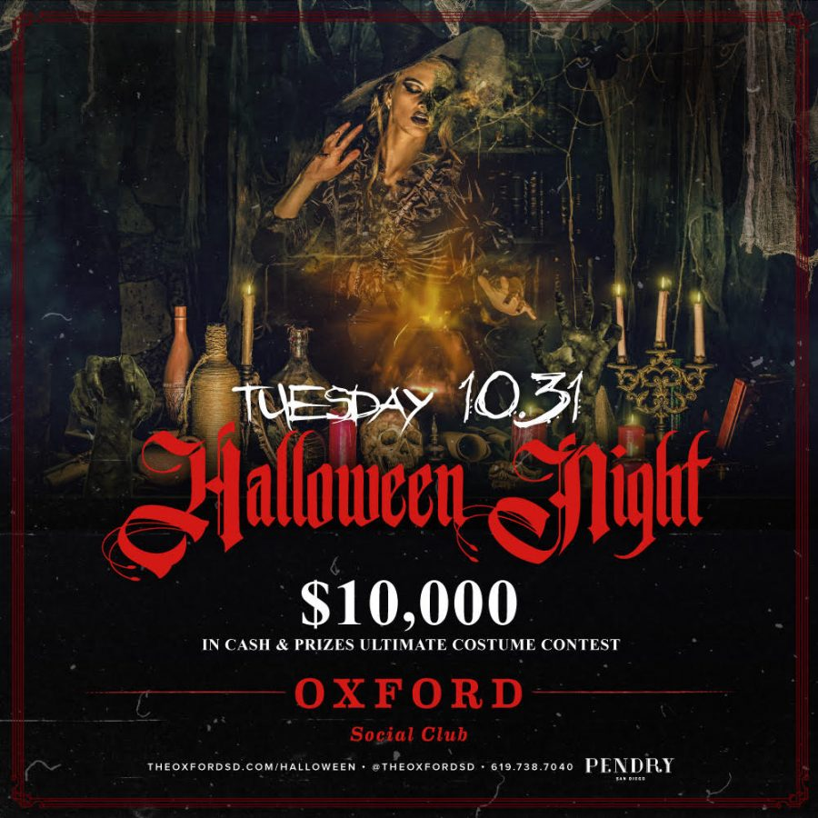 Halloween Night $10,000 Costume Contest – Oxford Social Club