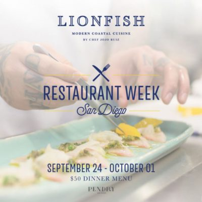Restaurant Week San Diego