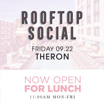 Theron – The Pool House September 22, 2017