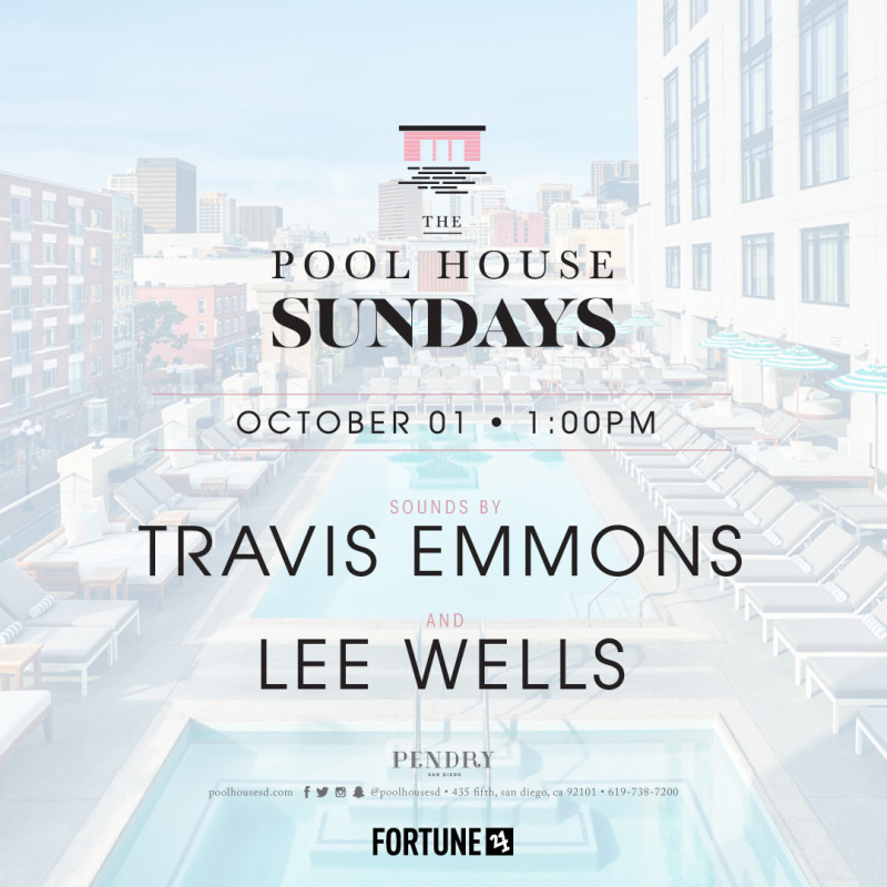 Travis Emmons – The Pool House October 1, 2017