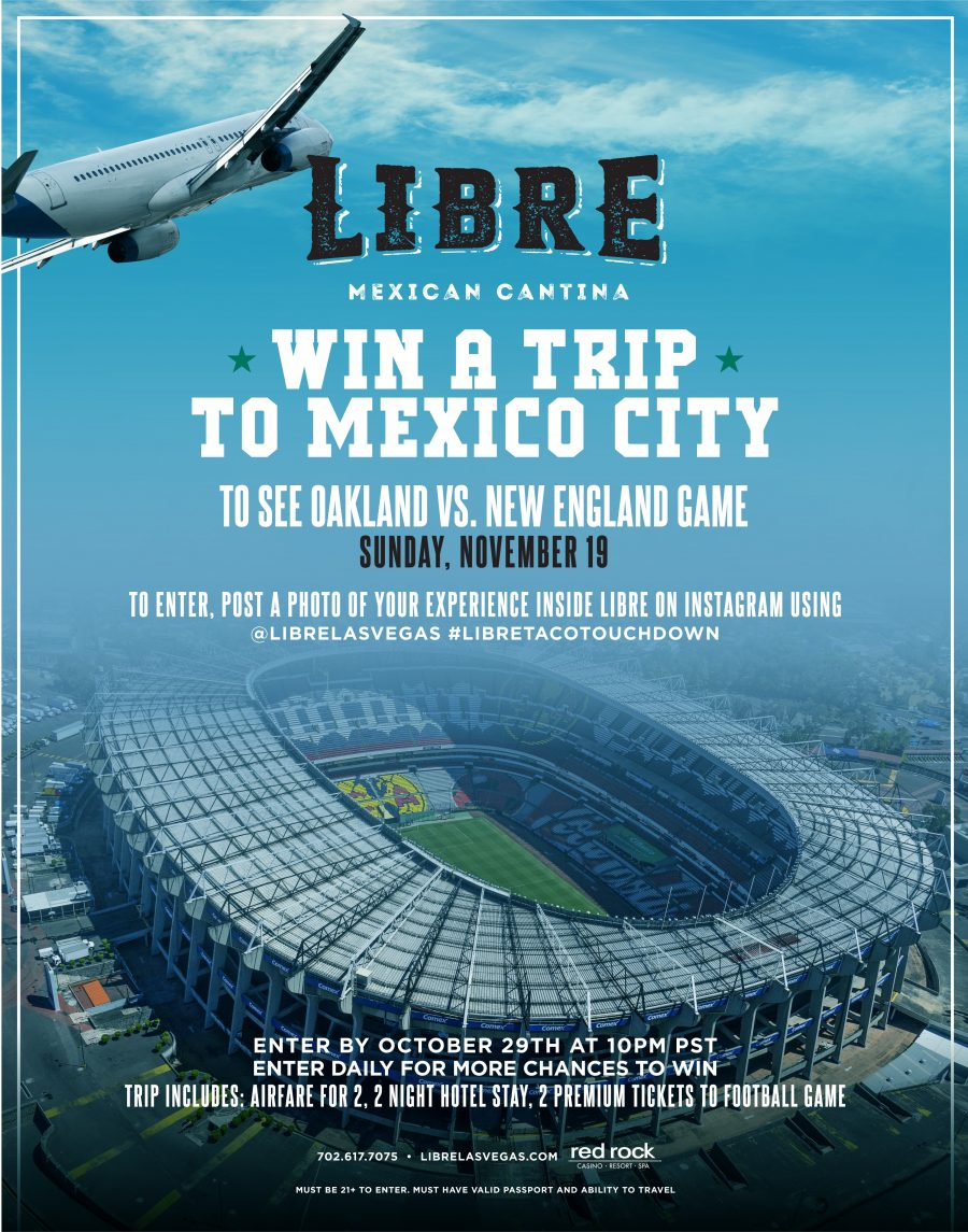 Libre Wants to Fly YOU to Mexico City This November