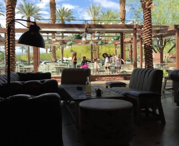 Summerlin patio dining