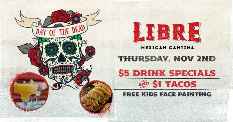 Join Summerlin Restaurant Libre For Drink and Taco Specials and Fun Facts About the Day of the Dead