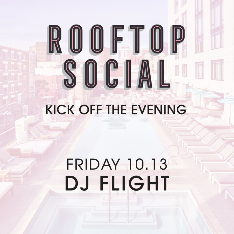 DJ Flight – The Pool House October 13, 2017