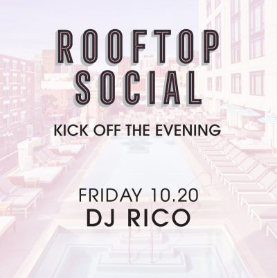 DJ Rico – The Pool House October 20, 2017