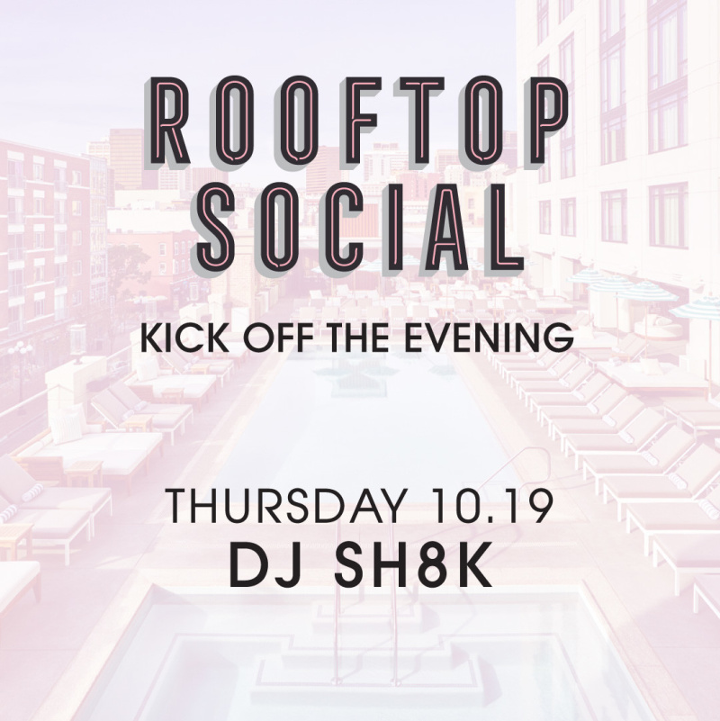 DJ SH8K – The Pool House October 19, 2017