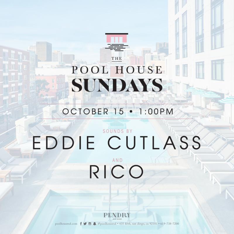 Eddie Cutlass – The Pool House October 15, 2017
