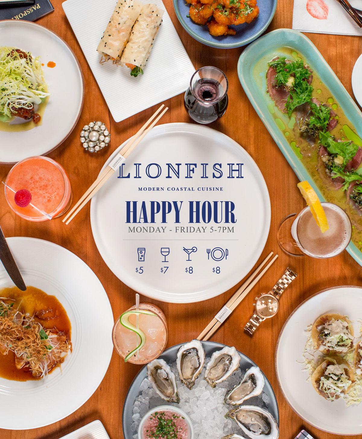 Lionfish Happy Hour San Diego