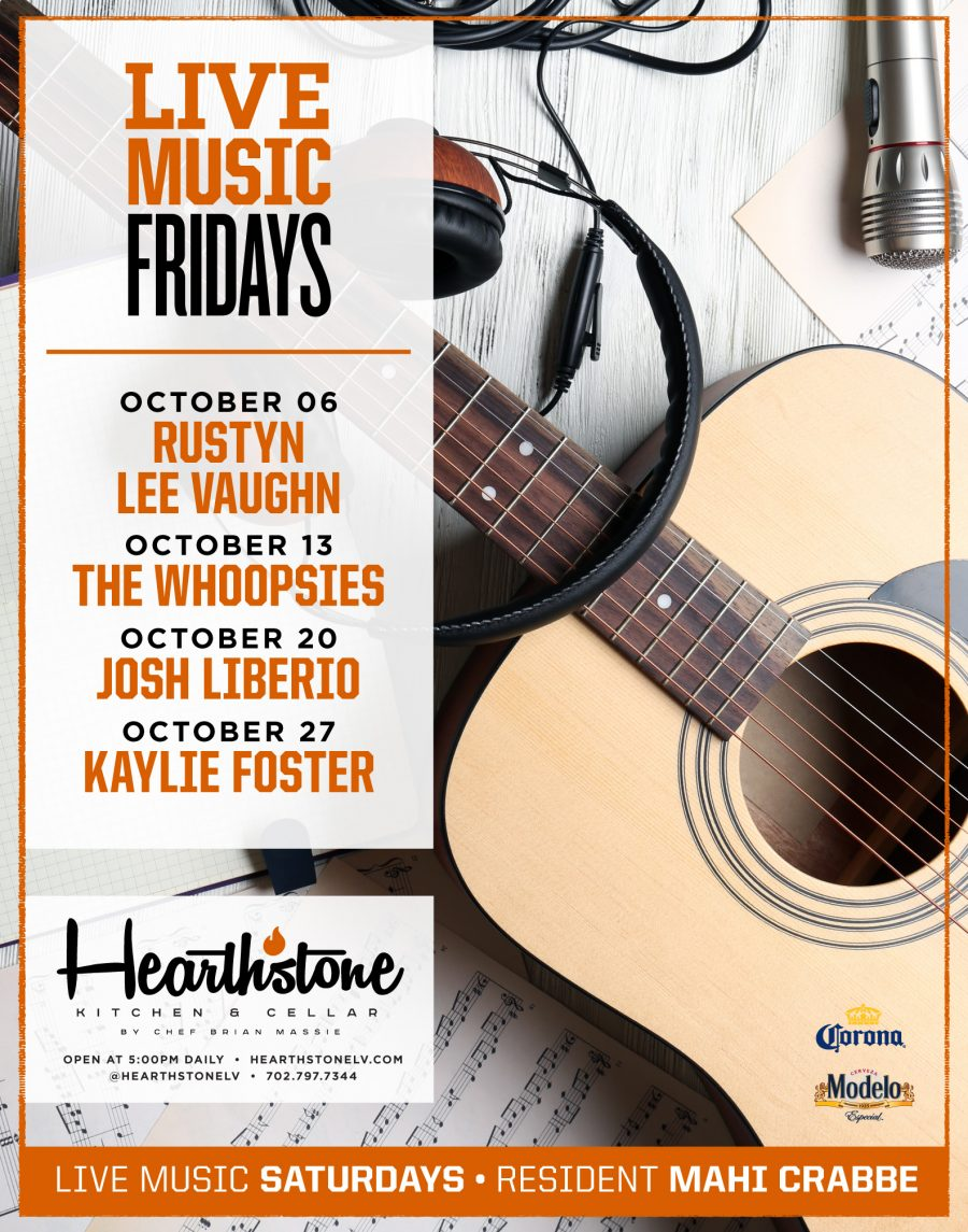 Come See the Best Acts in Summerlin All Fall Long During Hearthstone's Live Music Fridays
