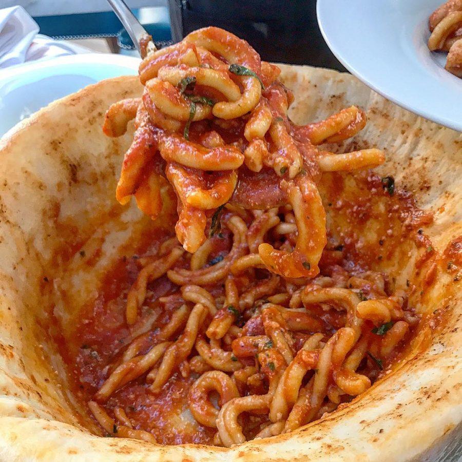 Summerlin Restaurant Salute Menu Feature: Cheese Wheel Pasta