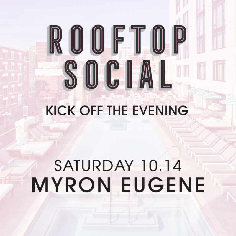 Myron Eugene – The Pool House October 14, 2017